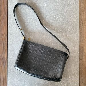 VINTAGE CELINE Leather Shoulder Bag